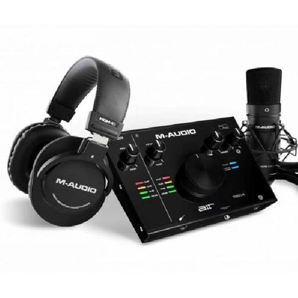 Foto do produto  AIR 192 4 Vocal Studio Pro – Interface de 2 canais, Microfone Condensador e Fones de ouvido