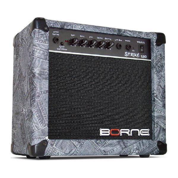 Foto do produto  Amplificador de Guitarra Borne Strike G80 de 23 Watts RMS