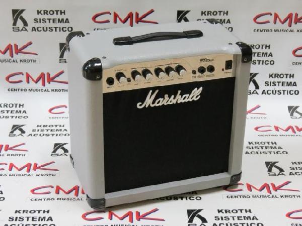 Foto do produto  Amplificador para Guitarra Marshall MG15CD Séries (Usado)