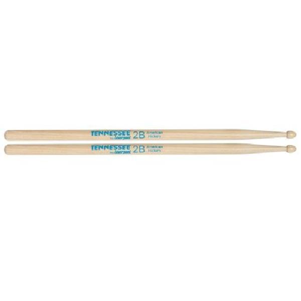 Foto do produto  Baqueta Liverpool Tennessee American Wood Hickory (Padrão 2B) - par