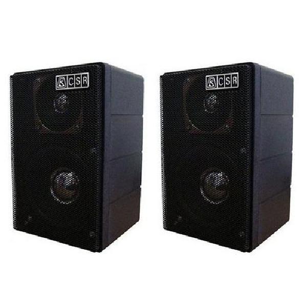Foto do produto  Caixa Acústica Passiva CSR 75M Preta 40W (Par)