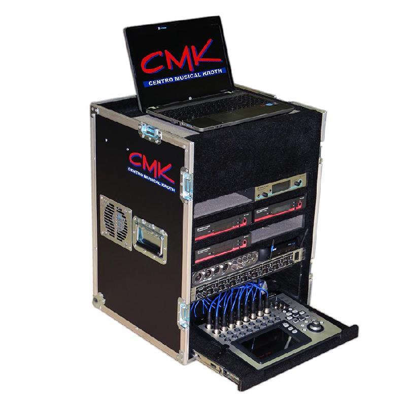 Foto do produto  Case KSA p/ bases de Microfones s/ fio, Ears e Mixer