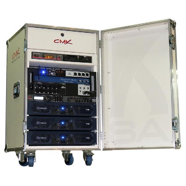 Foto do produto  Case KSA p/ bases de Microfones s/ fio, Mixer, processador e amplificadores