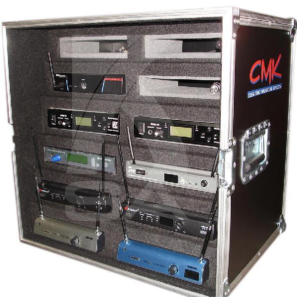 Foto do produto  Case KSA p/ bases de Microfones s/ fio