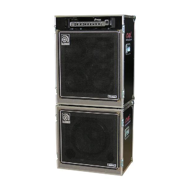 Foto do produto  Case KSA p/ caixas e cabeçote de contrabaixo