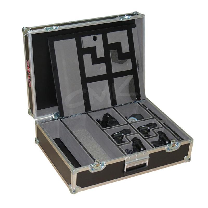 Foto do produto  Case KSA p/ Kit de microfones de bateria