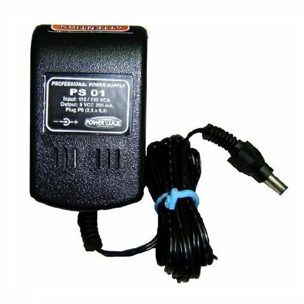 Foto do produto  Fonte de Alimentação 9 Volts PS01 - POWER CLICK