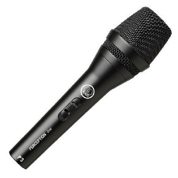 Foto do produto  Microfone com fio AKG P3S