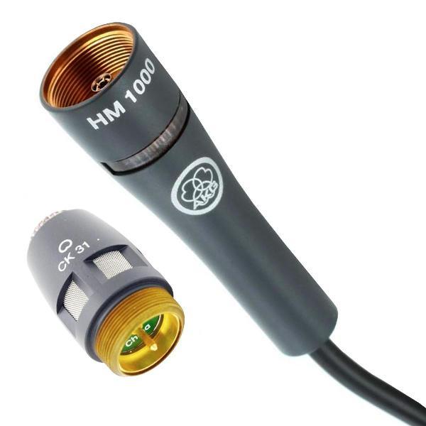 Foto do produto  Microfone com fio Coral Hm1000 Com Capsula CK32 - AKG