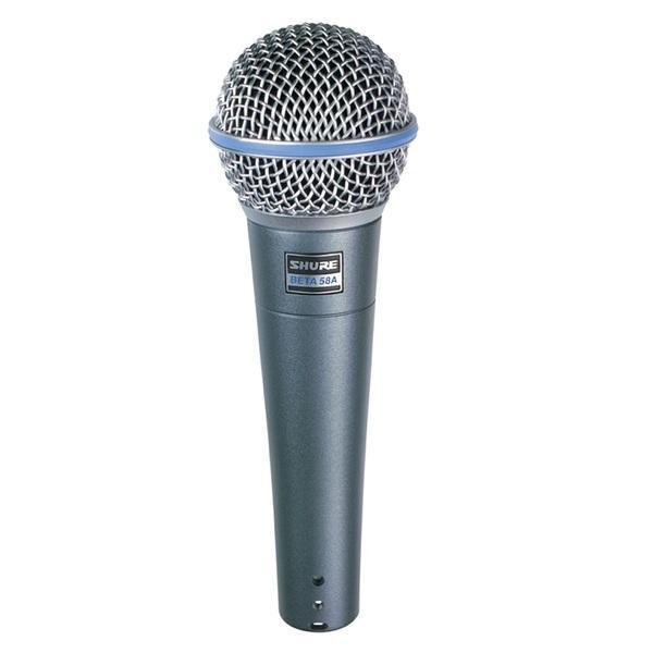 Foto do produto  Microfone com fio Shure Beta 58A