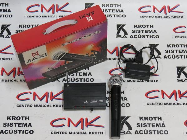 Foto do produto  Microfone sem fio SM-200 - JIAXI (usado)