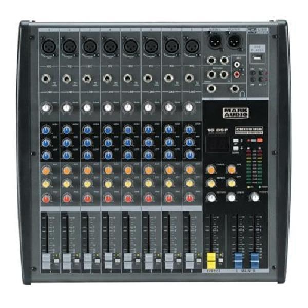 Foto do produto  Mixer Mark Audio - CMX08 USB