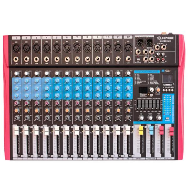 Foto do produto  Mixer Soundvoice - MS-122 EUX
