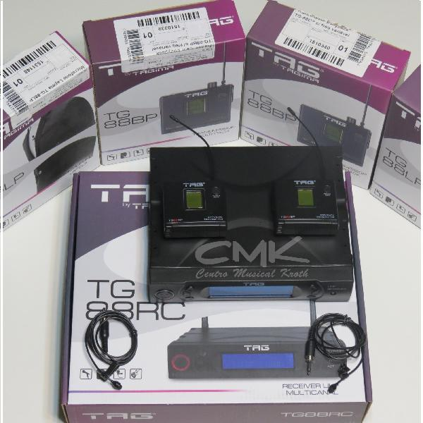 Foto do produto  Sistema Completo para Transmissão sem Fio Duplo