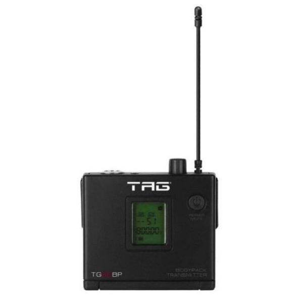 Foto do produto  Transmissor bodypack TG-88BP c/ frequência variável p/ Microfone s/ fio